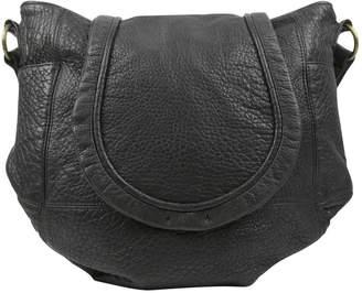 IRO Black Leather Handbag