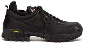 Roa - Neal Technical Twill Trainers - Mens - Black