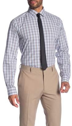 Eton Plaid Long Sleeve Slim Fit Shirt