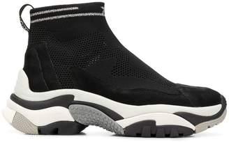 Ash hi-top sneakers