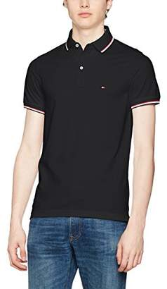 Tommy Hilfiger Men's Tommy Tipped S/S SF Polo Shirt