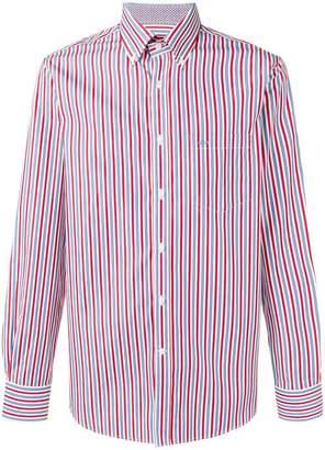 Paul & Shark striped poplin shirt