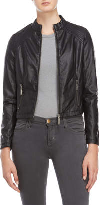 Joujou Jou Jou Basic Faux Leather Jacket