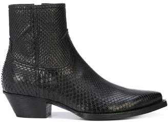 Saint Laurent Lukas boots