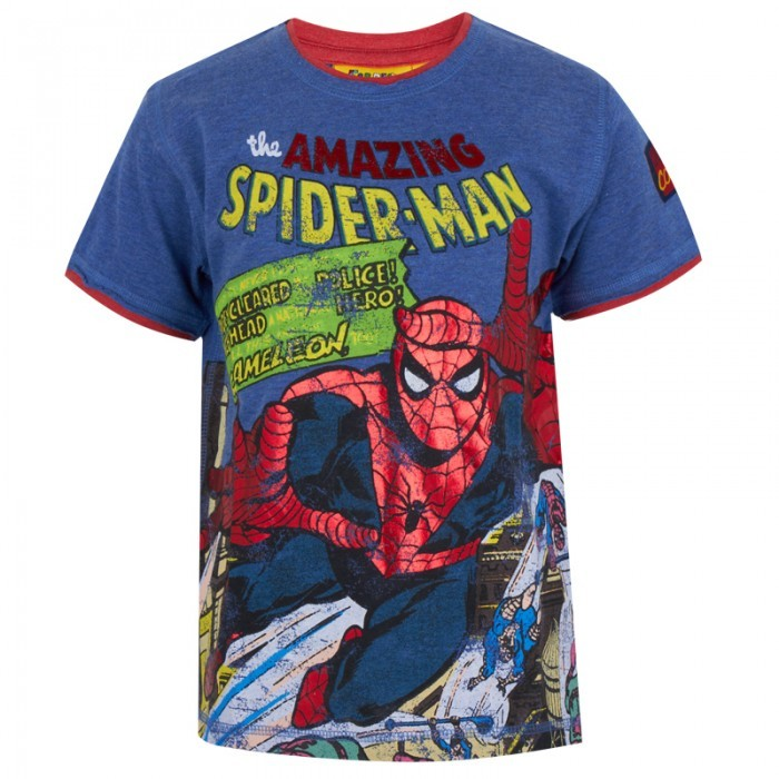 Spiderman Fabric Flavours The Amazing Tee