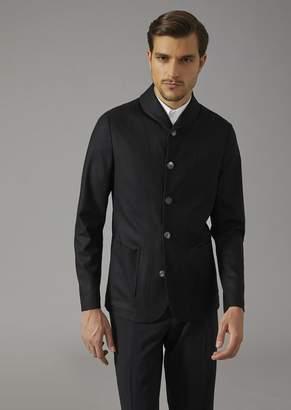 Giorgio Armani Jacket In Cashmere Drap