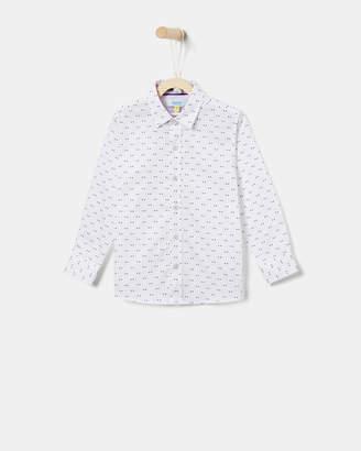 Ted Baker STEWAN Opulence geo print shirt