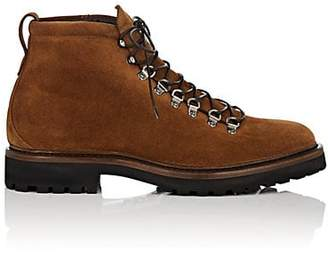 Franceschetti Men's Suede Hiking Boots - Med. brown
