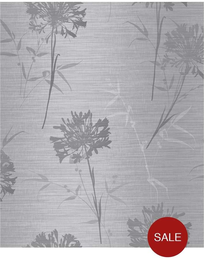 ARTHOUSE Kimora Silver Wallpaper