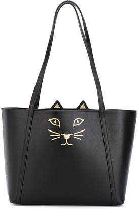 Charlotte Olympia Feline mini shopper