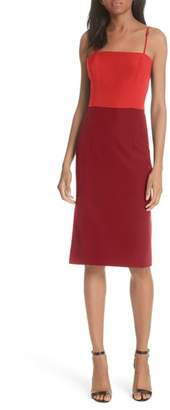 Milly Italian Cady Pencil Dress
