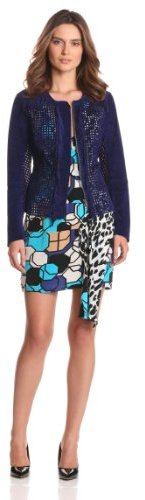 Tracy Reese Women's Perforated Cardigan