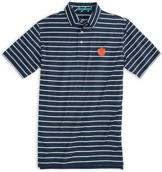 Southern Tide Gameday Driver Stripe Polo - Clemson University