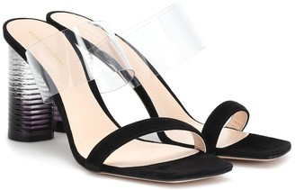 Nicholas Kirkwood Peggy suede sandals