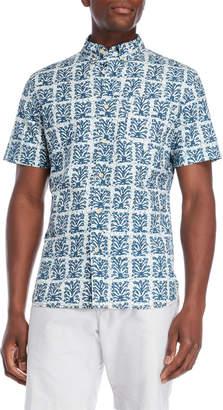 Surfside Supply Batik Print Short Sleeve Shirt