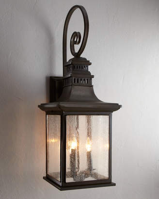 Horchow Magnolia Outdoor Sconce
