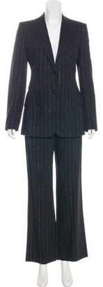 Dolce & Gabbana Wool High-Rise Pantsuit