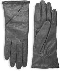 Portolano Textured Leather Gloves