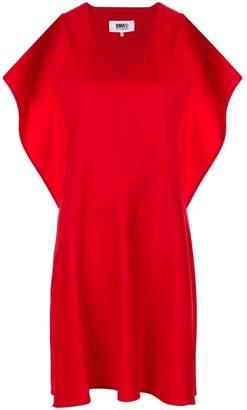 MM6 MAISON MARGIELA ruffle shift dress