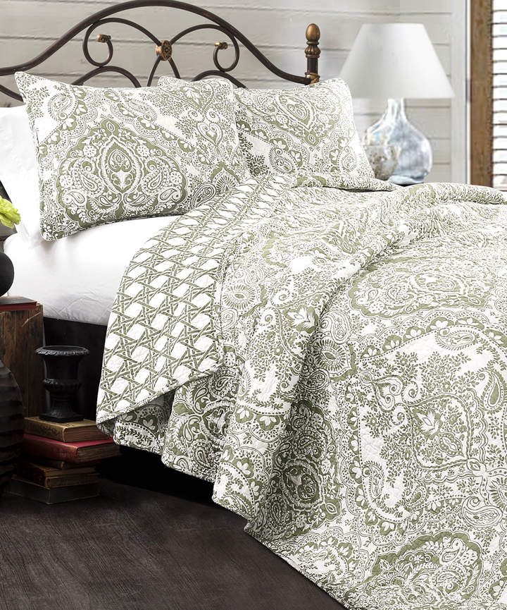 Sage Aubree Cotton Quilt Set