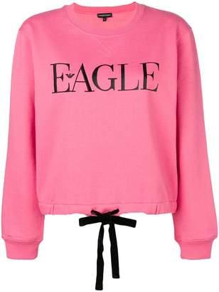 Emporio Armani Eagle print sweatshirt