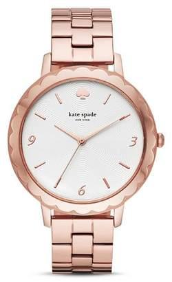 Kate Spade Slim Metro Rose Gold-Tone Watch, 38mm