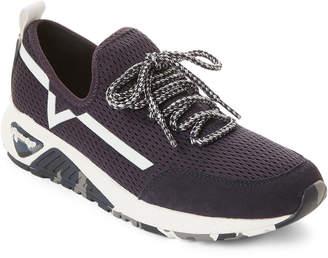 Diesel Blue Iris S-KBY SKB Knit Low-Top Sneakers