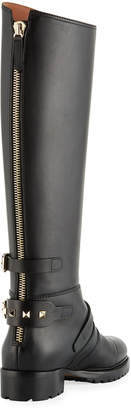 Valentino Tall Smooth Leather Boots