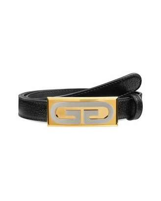 3d16aea3ca6a11 Gucci Men's Skinny Leather Belt w/ Solid Buckle