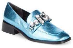 Marc Jacobs Tilde Leather Loafers