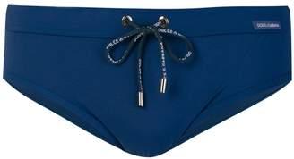 Dolce & Gabbana branded swimming trunks
