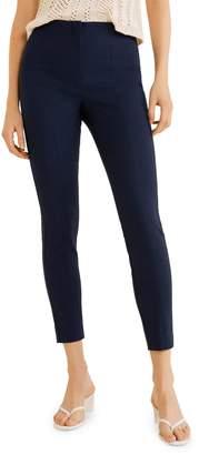 MANGO Avanti Cotton Blend Trousers
