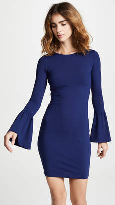 Susana Monaco Bell Sleeve Cuff Dress