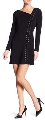 A.L.C. Luca Grommet Lace-Up Dress
