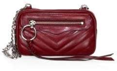 Rebecca Minkoff Quilted Leather Crossbody Bag