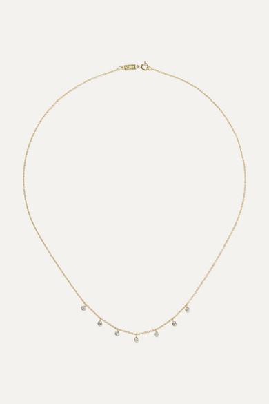Jennifer Meyer - 18-karat Gold Diamond Necklace