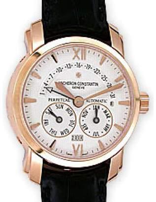 Vacheron Constantin Vacheron & Constantin Malte 31 Day Retrograde Perpetual Calendar 18K Rose Gold Mens Watch