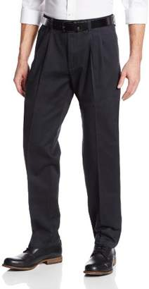 Lee Men's Stain Resistant Relaxed Fit Pleated Pant