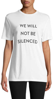 Prabal Gurung Will Not Be Silenced T-Shirt