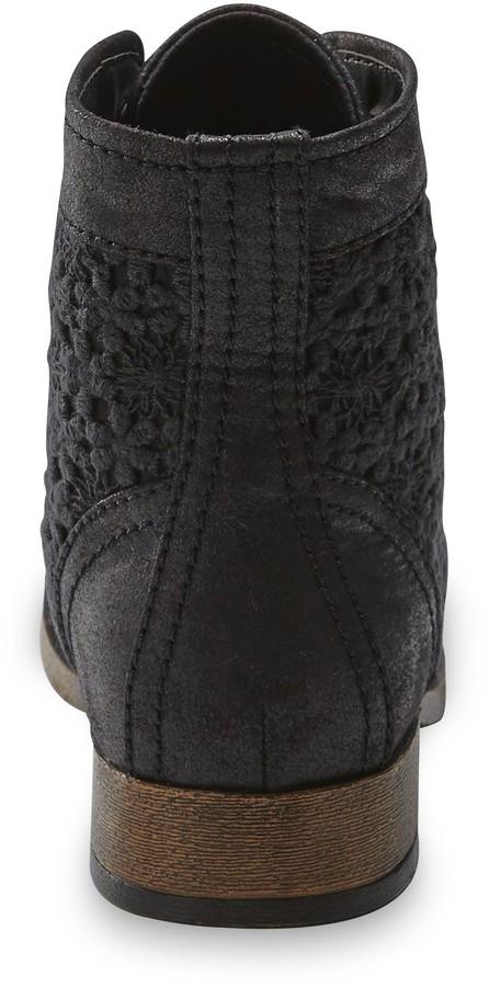 SM New York Women's Effie 5 Black Fashion Boot