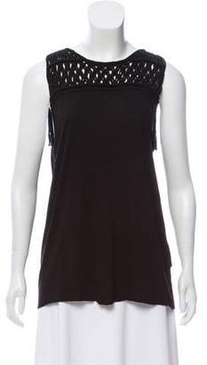 AllSaints Scoop Neck Sleeveless Top
