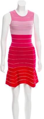 Torn By Ronny Kobo Knit Striped Dress
