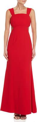 Jill Stuart Cutout Sleeveless Gown