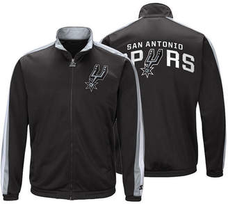 G-iii Sports Men San Antonio Spurs The Challenger Starter Track Jacket