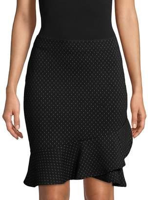 Max Studio Women's Ruffle-Trim Mini Skirt