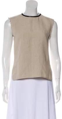 Celine Linen Sleeveless Top