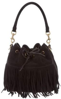Saint Laurent Fringed Emmanuelle Bucket Bag