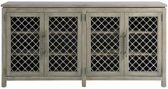 One Kings Lane Paxton Media Console - Graystone