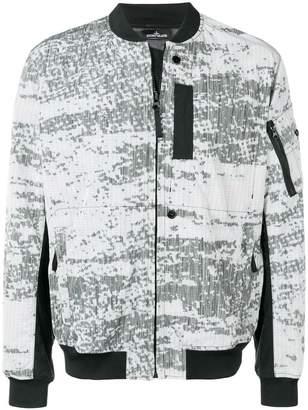 Stone Island Shadow Project printed bomber jacket