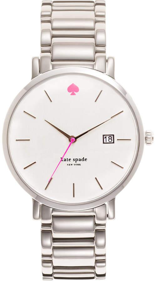 Kate Spadekate spade new york Watch, Women's Gramercy Stainless Steel Bracelet 38mm 1YRU0008